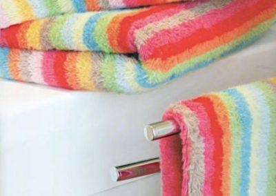 Bunte Handtücher von Ihrem Raumausstatter Wohnkultur Krause